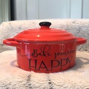 Red Bake Someone Happy Red/black casserole ❤️🖤